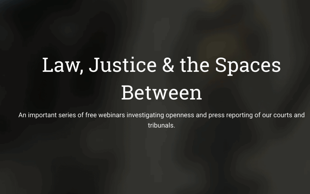 Law, Justice & the Spaces Between