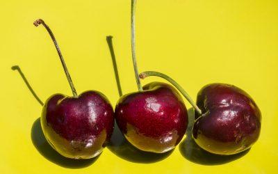 Cherries by Liz West on Flickr - thanks!